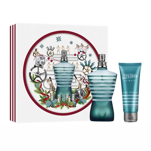 Jean Paul Gaultier JPG Le Male Geschenkset 75ml Eau De Toilette EDT & 75ml Shower Gel