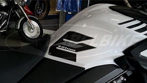 2 Protecciones Lateral Depósito Compatible para Moto Suzuki V-Strom 650 de 2017