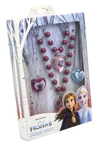 JOY TOY 19391 Disney Frozen 2-Schmuckset, Mehrfarbig