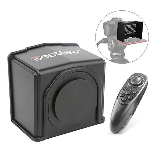 Bestview T1 tragbarer Handy-Teleprompter Prompter mit Fernbedienung für Smartphones mit weniger als 6-Zoll-DSLR-Kamera für Bühnenmoderator Speech Live Interview Online-Video-Vlog