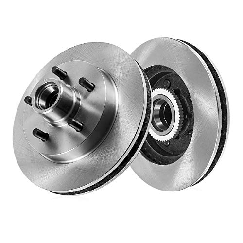 CRK14283 FRONT Premium Grade OE 267 mm [2] Rotors [ fit Chevrolet S-10 Blazer Pickup GMC Jimmy Sonoma 2WD 4 wheel ABS ]