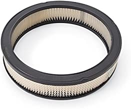 Edelbrock 1217 Round Air Filter Element, Multi, One Size