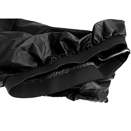Funda Nylon Spray Skirt Deck Faldón para Kayak - Negro