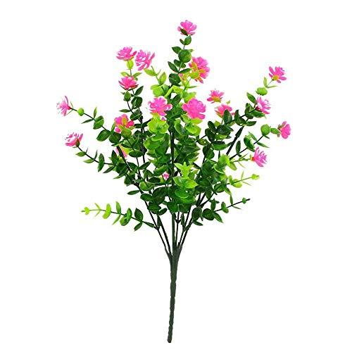 1 Bündel Künstlicher Plastik Blumenstrauß für Haupt Dekorations Pflanzenwand Garten Deko