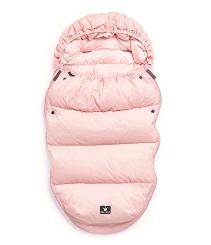 Elodie Details Powder Pink Pink Baby-Schlafsack - Baby-Schlafsäcke (rosa, einfarbig, Feathers, down, Reißverschluss)