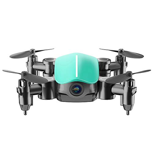 Slreeo Ultra-Small Folding Drone, High-Definition Aerial Photography Remote Control Aircraft, Gesture Photography, Quadcopter, Automatic Return to Home, One-Button Lift, Simple Operation