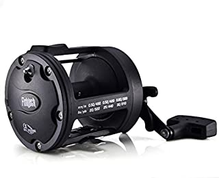 Isafish Trolling Reel with Alarm Function 3.8:1 Saltwater Freshwater Baitcasting Drum Fishing Reels Right Hand