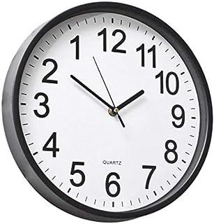 """YAVIS 12"""" Backwards Wall Clock Reverse Clock Runs Counterclockwise"""
