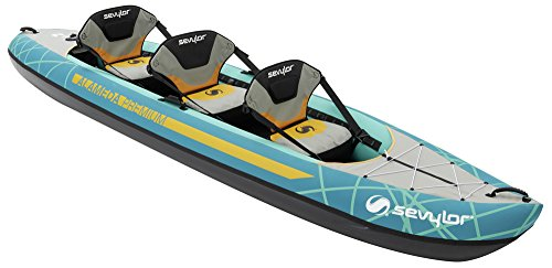 Sevylor Alameda Premium aufblasbares Kanu Kajak, Blau, One Size