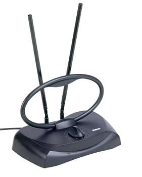 RCA ANT121Z Durable Passive Indoor Antenna Black