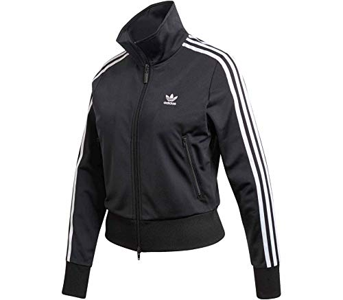 adidas Damen Firebird Originals Jacke, Black/White, 38