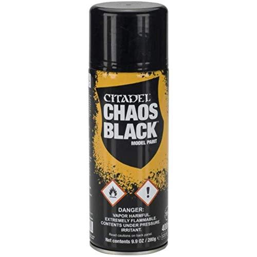 62-02-51 シタデルカラー CHAOS BLACK SPRAY