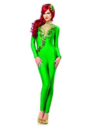 Leg Avenue 85331 - Ivy Vixen kostuum set, 2-delig, maat L, groen