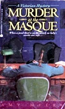 Paperback Murder at the Masque Book