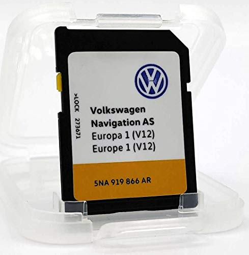 SD-Karte Update VW Navigation AS Europe 1 V12 MIB2 / Discover Media MIB2 / 5NA 919 866 AR