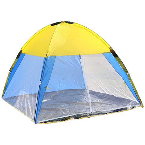 MHBY Tienda de campaña, 3 4 Personas, Tienda de Pesca, Tienda al Aire Libre, Gasa para Acampar, Protector Solar Transpirable, Puertas y Ventanas de Cuatro Lados