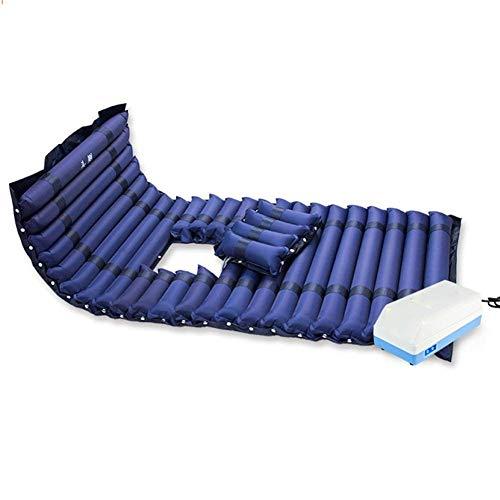 WZB - Wheelchair Anti Dekubitus Matratze Hämorrhoiden Pad Ältere Gelähmte Bettpflege Single Air Bettmatten, Co4B, Blue, CO4B