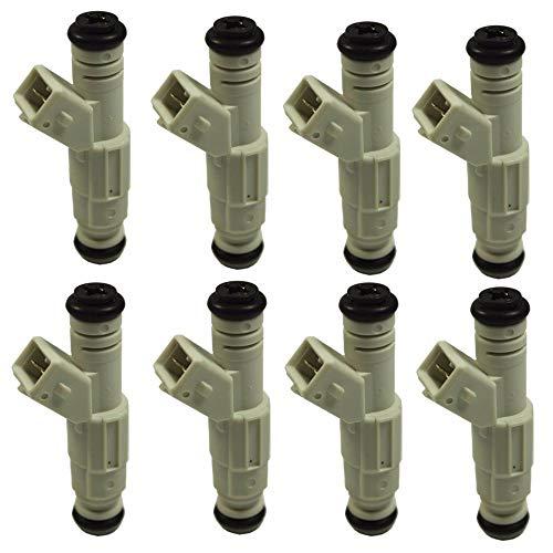 New Set (8) 36lb Fuel Injectors for Ford GM V8 LS1 LT1 5.0L 5.7L 380cc
