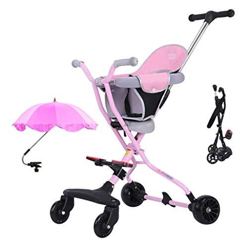 Combikinderwagen kinderwagen 1-5 jaar oud kind driewieler licht klapwagen verstelbare zitkussen veiligheidsgordel kinderwagen reis kinderwagen & buggys