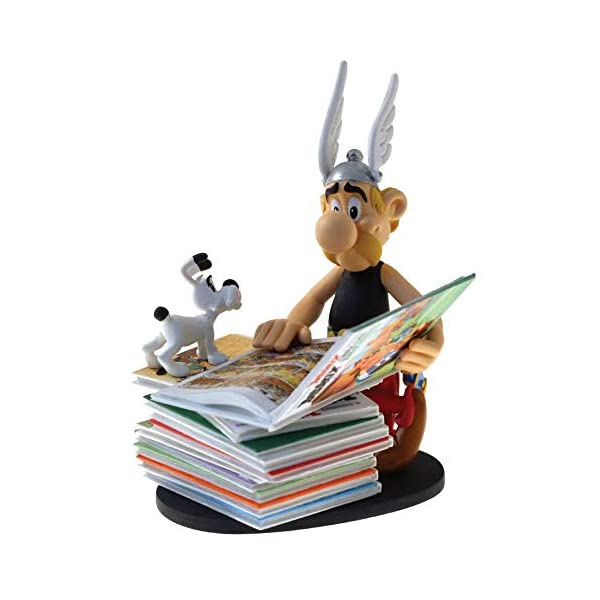 Plastoy Asterix se Sienta en Pila de Libros, Multicolor (306281289) 1