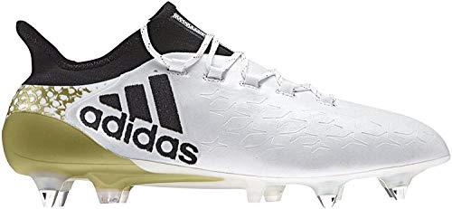 adidas Herren X 16.1 Sg Fußballschuhe, Mehrfarbig (Ftwwht/Cblack/Goldmt), 40 EU