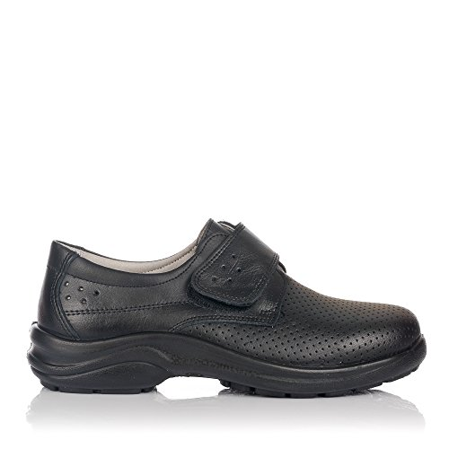 LUISETTI Berlin 0025 Zapato Sanitario Y HOSTELERIA Unisex-Adulto Negro 39