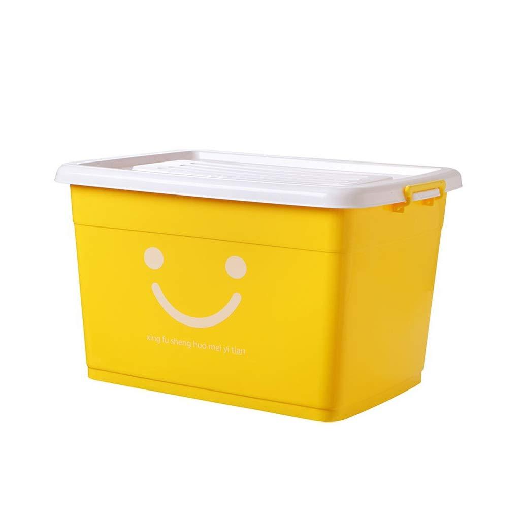 Caja De Almacenaje De La Ropa Cesta/Almacenamiento En El Hogar/Caja De Plástico, Color Opcional 64 × 45 × 38cm YGDH (Color : B): Amazon.es: Hogar