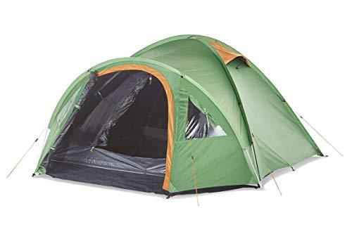 4 Personen Iglu Doppeldach Zelt Camping Trekking 4,8kg verdunkelt