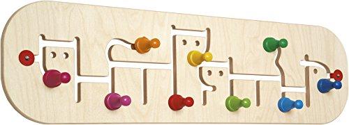 Selecta 60007 Movella, Porte-Manteau, Jouet pour Enfants, 74 x 20,5 cm