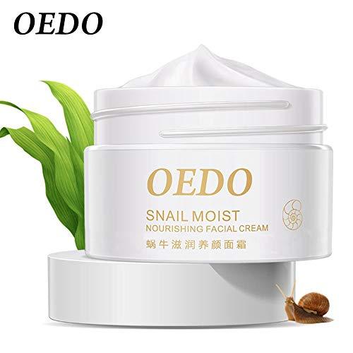 IBISHITAOXUNBAIHUOD Oedo caracol crema de múltiples funciones de la piel Cuidado de mejorar el acné reparación de la piel que blanquea la crema facial hidratante Caracol