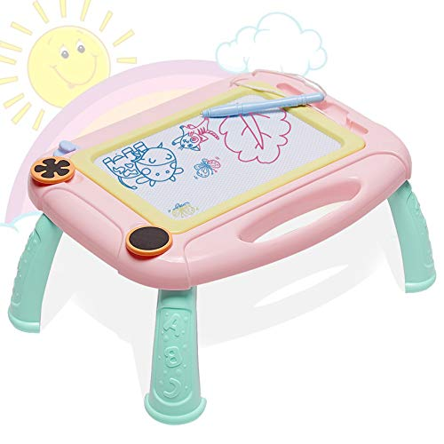 HahaGift Kids Toys for 3 2 1 Year Old Girls Toys Age 3 2 1,Magna Doodle Drawing Board as Gifts for 3 2 1 Year Old Girls Gifts Age 2 3, Christmas Birthday Gifts for Boys Girls Age 2 3 1 Year Old