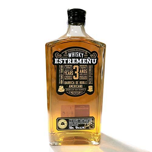 Whisky Estremeñu | Origen Extremadura | 70 ml |Maduración mínima de 36 meses
