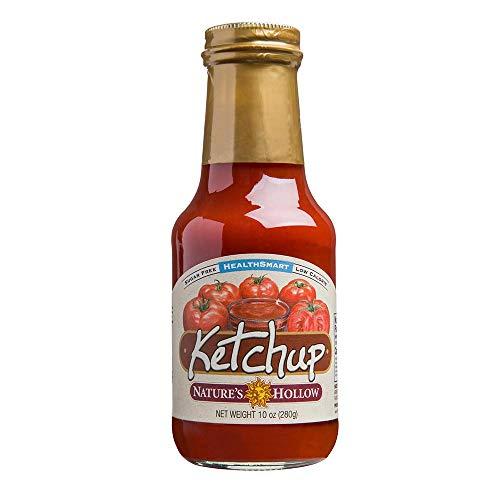 Nature's Hollow, Sugar-Free Ketchup, 12 Ounce, Non GMO, Keto Friendly, Vegan and Gluten Free