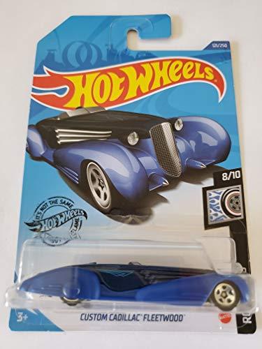 Hot Wheels 2020 Rod Squad Custom Cadillac Fleetwood, Blue 121/250
