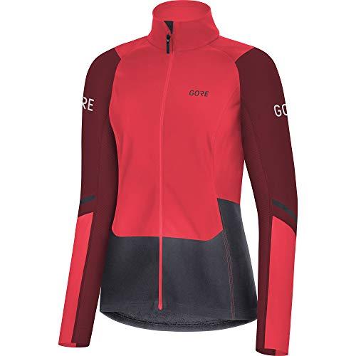 GORE WEAR X7 Damen Langlauf Langarm Shirt Partial GORE-TEX INFINIUM , 40, Pink/Bordeaux