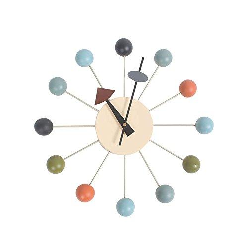 Polychrom Haus Dekoration Süßigkeiten Ball Wand Hängen Uhr Nordischer Stil Nielsen-Design Zum Zeichnungsraum-Dekor