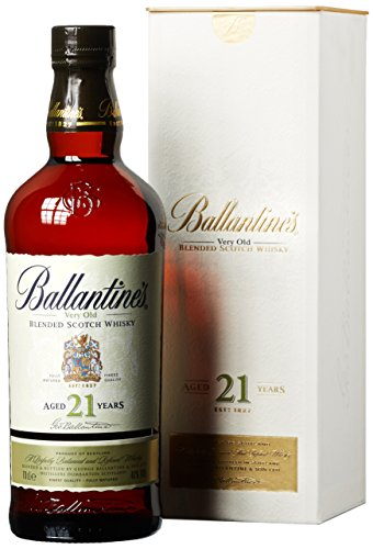 Ballantine's 21 Years Old Blended Scotch Whisky mit Geschenkverpackung (1 x 0.7 l)