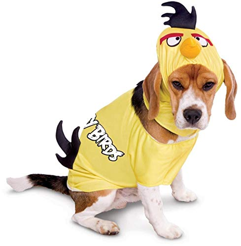 Magic Paper Rovio Angry Birds Yellow Bird Pet Costume Petit