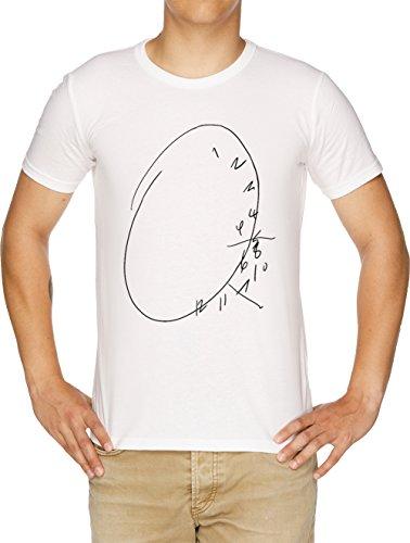 Hannibal Uhr Herren T-Shirt Weiß