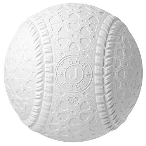 内外ゴム(NAIGAI) 軟式 野球 ボール 公認球 J号 (学童用) 12球