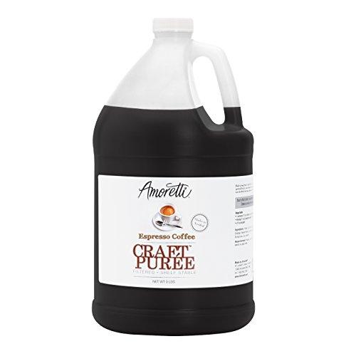 Amoretti Craft Puree, Espresso Coffee, 9 Pound