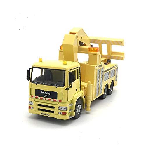 Baufahrzeuge 1/32 30cm Deutscher Anhänger Schwerkran Modell Druckguss Legierung Autotechnik Transportmodell...