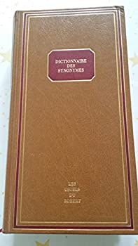 Hardcover Dictionnaire de Synonymes: Usuels De... Book