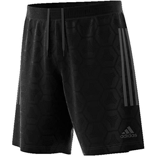 adidas Herren Tan Jaquard Short, Black, L