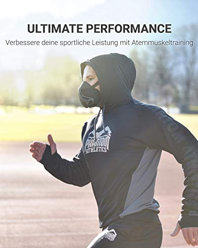 Phantom Athletics Trainingsmaske Schwarz - 5