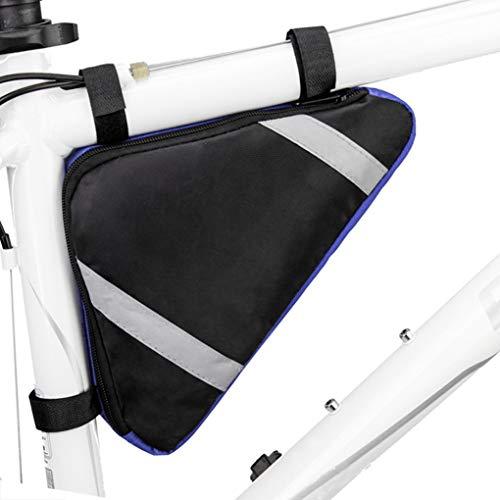MOONLOVE Fahrrad-Dreiecktasche Triangle Bag Radtasche Rahmentasche Overcross-Tasche Fahrradtasche Werkzeugtasche aus hochwertigem Oxford für Mountainbikes Fahrräder Rennräder