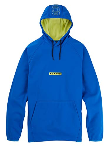 Burton Herren Hoodie Crown Weatherproof, Lapis Blue, S, 22024100400