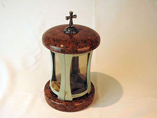 Sépulture Bougie sépulture Lampe Lampe Pour Tombe sépulture Lanterne Design Croix