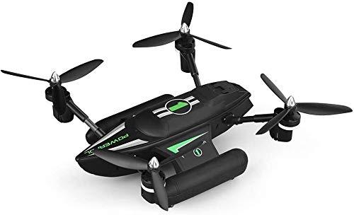JUANCHUN Aviones de Control Remoto, Mini vehículos aéreos no tripulados, Aire y mar Nave anfibia, 2,4 g, 4 Canales Controlador de Banda de 6 Ejes gyro estabilizado, Modo sin Fin (Color: Verde)
