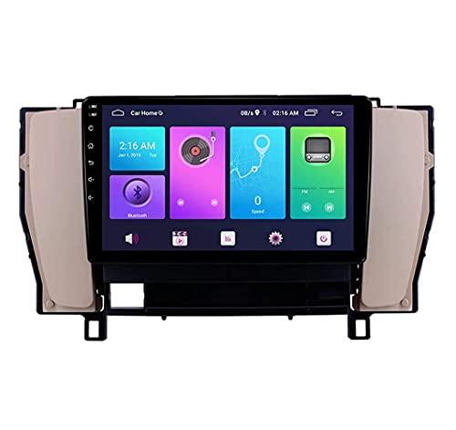 YIJIAREN Radio GPS Navegación para Toyota CROWN12 2003-2007, Pantalla táctil 2.5D Android 10.0 Coche Estéreo Sat Nav Soporte de Control del Volante BT Mirror-Link 4G WiFi